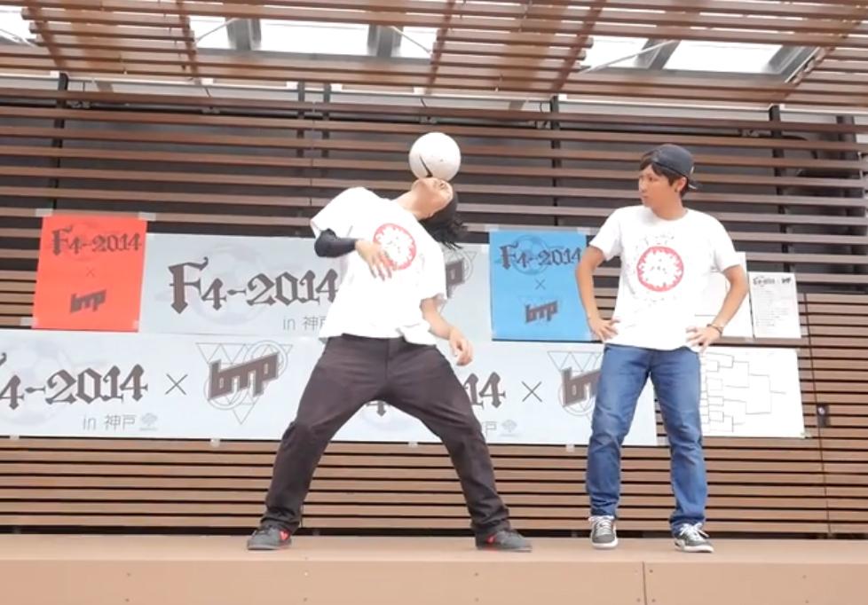 F4-2014×bac to pec in 神戸ゲスト ALEG- Re