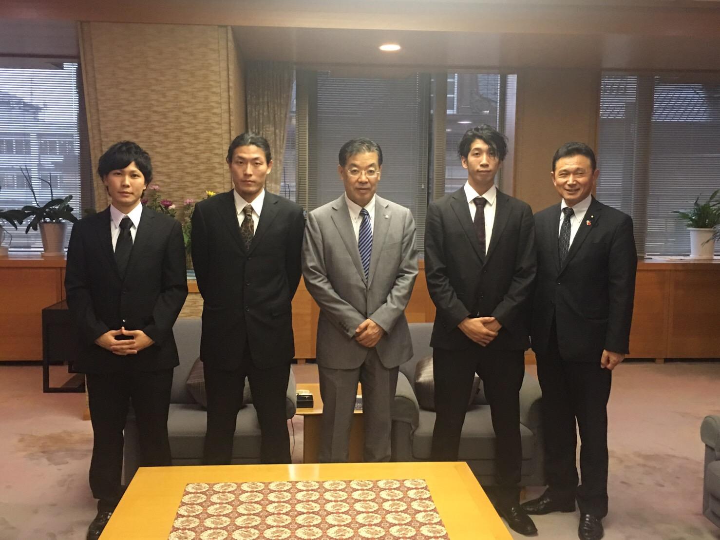 京都府庁 表敬訪問