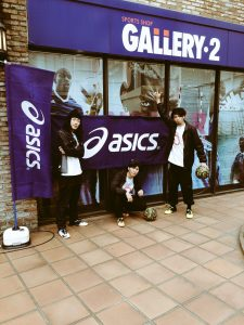 asics「TOQUE 5」発売イベント@GALLERY・2渋谷店